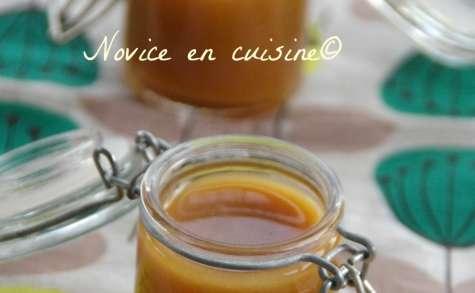Crème caramel beurre salé au miel