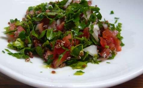 Taboulé libanais au quinoa (végane et sans gluten)
