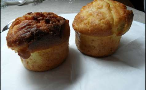 Muffins pomme rhubarbe