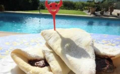 Pizza Maison avec Nutella
