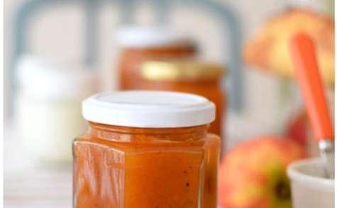 Confiture de potiron et pommes