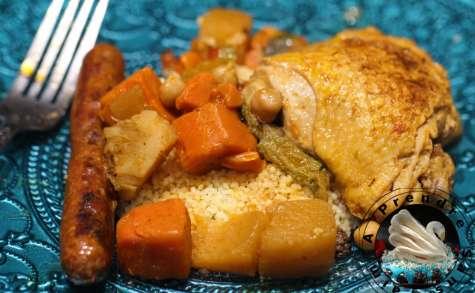 Couscous marocain royal