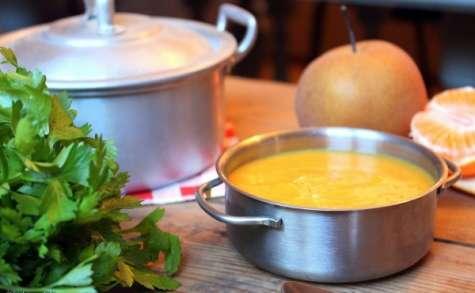 Velouté butternut et banane
