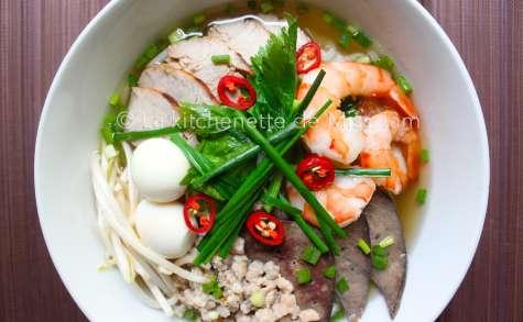 Soupe de nouilles Phnom Penh (Hu tiêu Nam Vang)