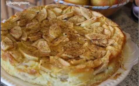 Pommes Gourmandes® , tout le plaisir du fruit, flognarde à la fève tonka