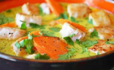 Curry d'espadon