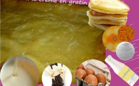 Blinis dessert à la crème aux oeufs, vanille - blintzes souflés (cuisine juive)