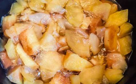 De la compote de pommes