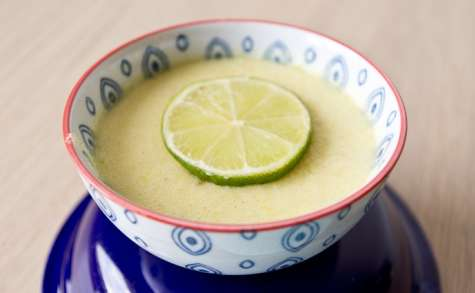 Mousse au citron vert