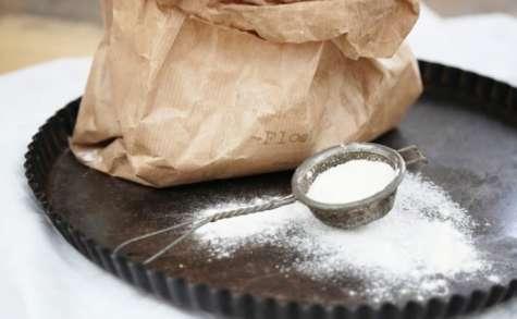 Pâte à tarte sablée