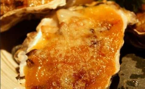 Huîtres gratinées au champagne, à la crème