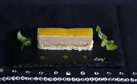 Foie gras à la gelée mangue passion