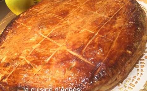 Galette aux pommes vanillées