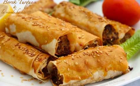 Borek turque à la viande hachée