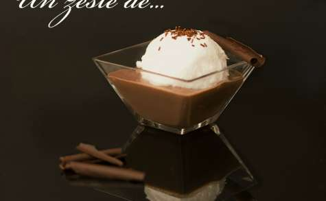 Ile flottante au chocolat