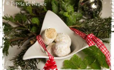 Boules de neige - recette de sablé suédois