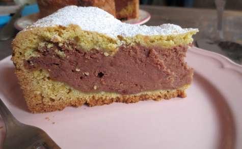 Gâteau à la Ricotta, Amaretti & Chocolat