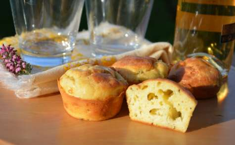 Muffins aux 3 fromages