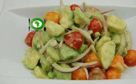 Salade d'avocat sucrée