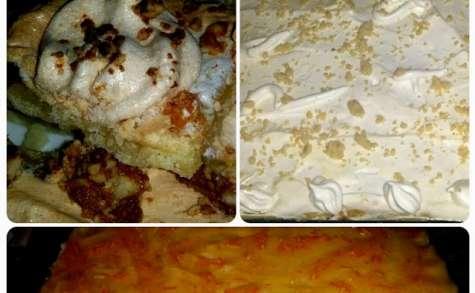 Gâteau meringué à la marmelade d'orange