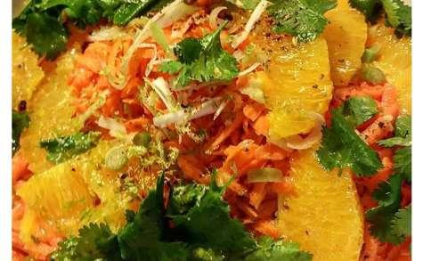 Mariage thaï, Carotte et Orange