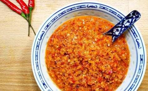 Pâte de Curry Rouge à la Thaï