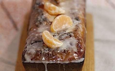 Cake moelleux aux clémentines et au chocolat
