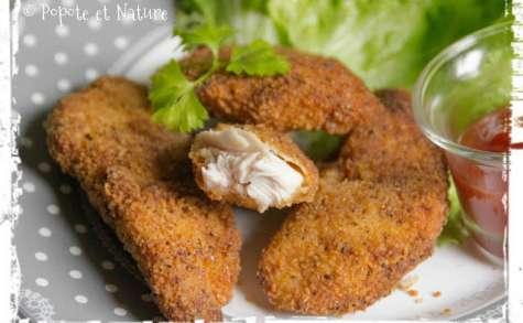 Nuggets de poulet panés Jerk jamaïcain