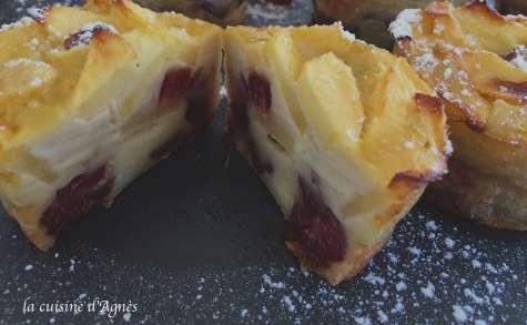 clafoutis aux cranberries sans gluten et sans lactose