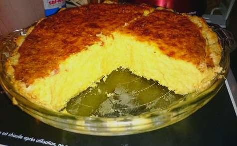 Tarte au potiron et au fromage