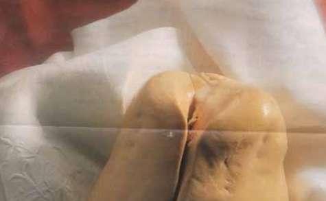 Escalopes de fois gras chaud de canard aux raisins