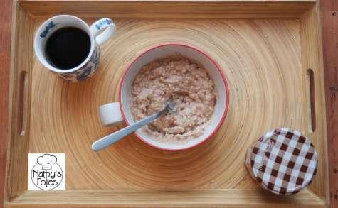 porridge à la crème de marron