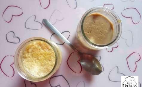 Petites crèmes dessert sans lactose