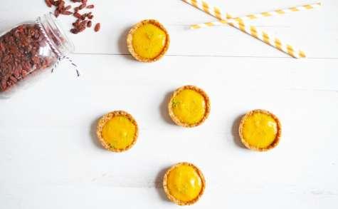 Tartelettes Crues Mangue et Combava