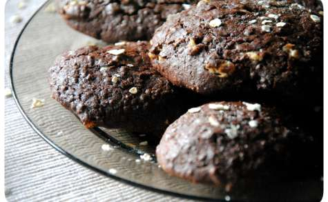 """Biscuits protéinés moelleux """"Dark"""" à la Guinness"""