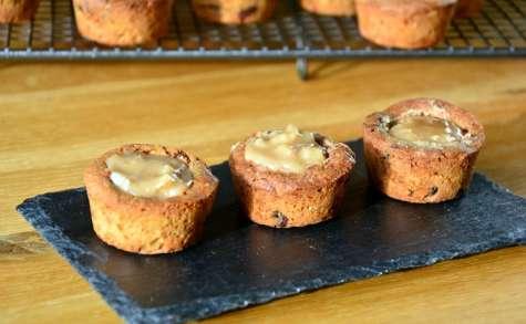 Cookies cup noix, crème de marron et Rhum