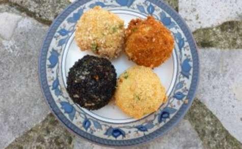 Arancini de riz italien végétarien et sans gluten