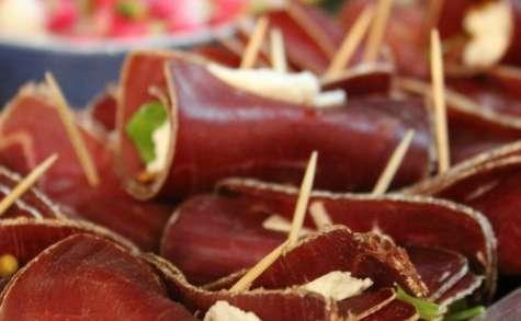 Roulés de viande des Grisons