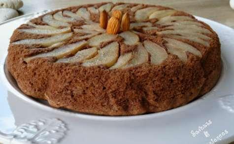 Gâteau au Chocolat, aux Poires et aux Noisettes