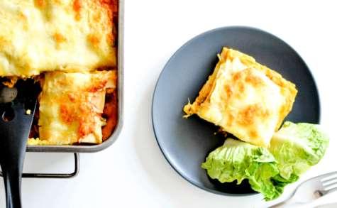 Lasagnes de Butternut, Boeuf,Champignons et Ricotta