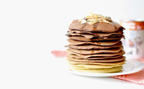 Cacao pancakes