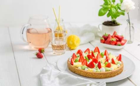 Fantastik à la fraises au citron et au basilic