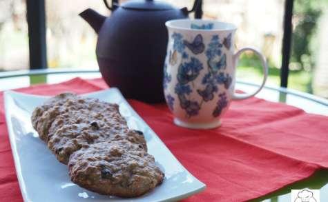 Biscuits à l'épeautre, banane et chocolat