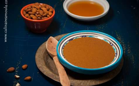 Amlou, la pâte à tartiner berbère à l'huile d'argan