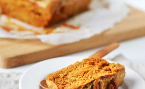 Cake moelleux au yaourt au caramel