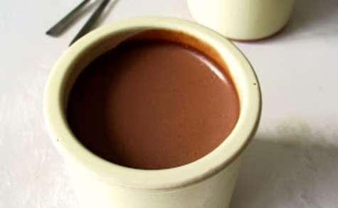 Crème Dessert au Chocolat Noir et à l'Orange