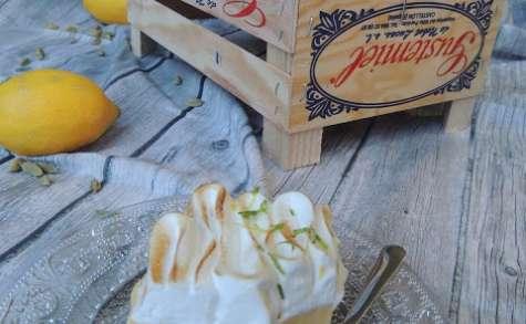 Tarte au citron et cardamome meringuée