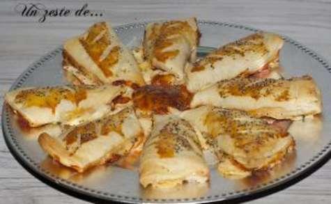 Tarte pizza au bacon étoile