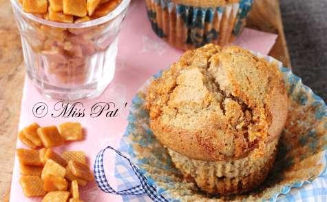 Muffins aux éclats de nougatine