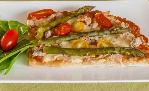 Pizza thon et asperges